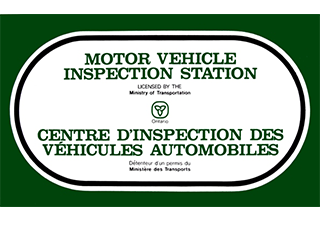 registered motor vehicle inspection station license